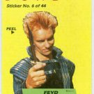 Dune 1984 Sticker #6 Chase Card Feyd Challenges Paul