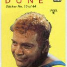 Dune 1984 Sticker #10 Chase Trading Card Beast Rabban