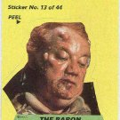 Dune 1984 Sticker #13 Chase Card The Baron Harkonnen