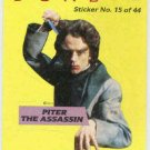 Dune 1984 Sticker #15 Chase Card Piter The Assassin