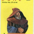 Dune 1984 Sticker #27 Chase Trading Card Fremen Monk
