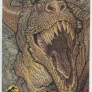 Jurassic Park Gold Art #1 Chase Card Terrifying Tyrannosaurs