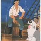 Little Mermaid 1991 Stand Up #6 Trading Card
