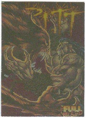 Pitt 1995 Intrepid Ashcan Cover #C14 Foil Embossed Card