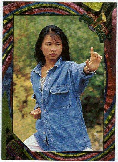 Power Rangers Series 2 #85 Rainbow Power Foil Card Trini