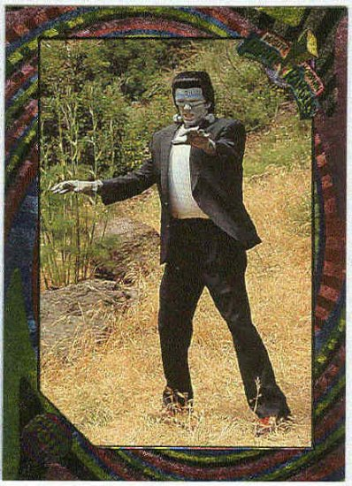 Power Rangers Series 2 #86 Rainbow Power Foil Frankenstein
