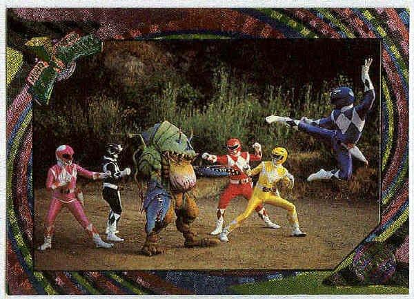 Power Rangers Series 2 #103 Rainbow Power Foil Terror Toad