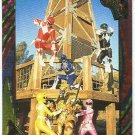 Power Rangers Series 2 #104 Rainbow Power Foil Rescue Time