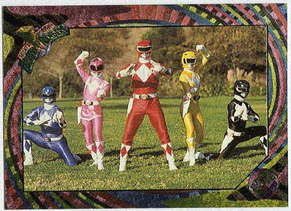 Power Rangers Series 2 #107 Rainbow Go Go Power Rangers