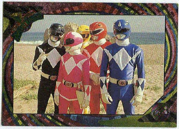 Power Rangers Series 2 #130 Rainbow Power Foil Decision Time