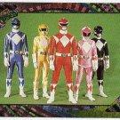 Power Rangers Series 2 #135 Rainbow Power Foil Unbeatable