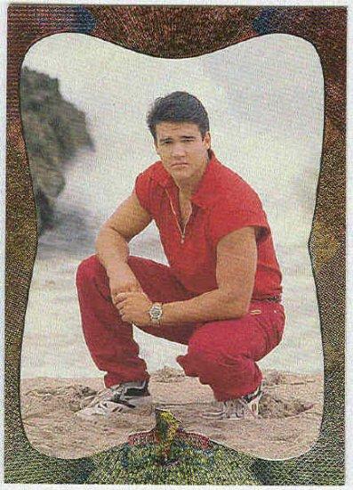 Power Rangers Series 2 #81 Power Foil Parallel Card Jason