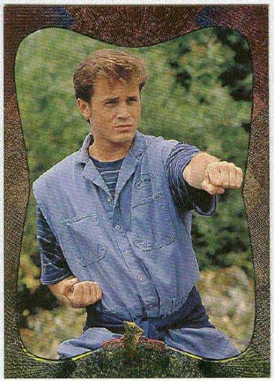 Power Rangers Series 2 #84 Power Foil Parallel Card Billy