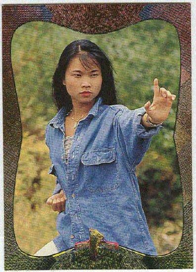 Power Rangers Series 2 #85 Power Foil Parallel Card Trini
