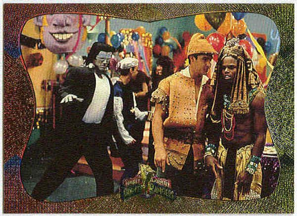 Power Rangers Series 2 #88 Power Foil Card Costume Party