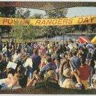 Power Rangers Series 2 #98 Foil Card Power Rangers Day