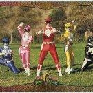 Power Rangers Series 2 #107 Foil Card Go Go Power Rangers