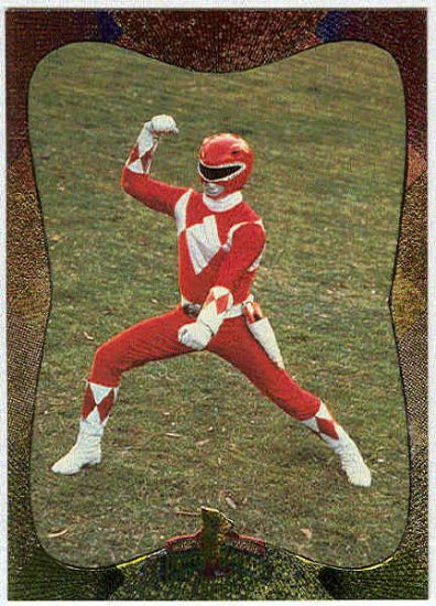 Power Rangers Series 2 #117 Power Foil The Red Ranger
