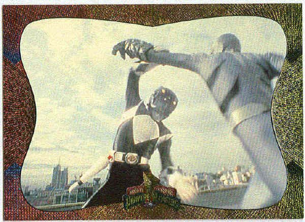Power Rangers Series 2 #125 Power Foil Card Power Block
