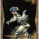 Power Rangers Series 2 #136 Power Foil Card Slippery Shark