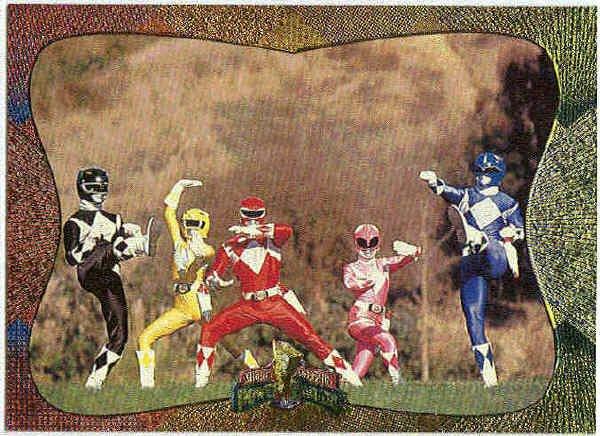 Power Rangers Series 2 #143 Power Foil Card Super Heroes