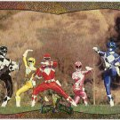 Power Rangers Series 2 #143 Power Foil Card Super Heroes