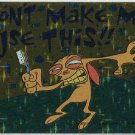 Ren and Stimpy 1993 #22 Sticker Puzzle Trading Card