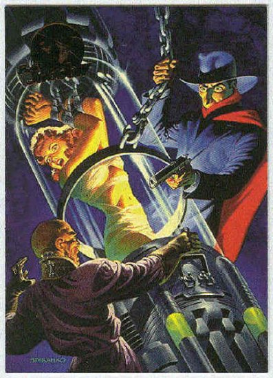 Shadow Movie Legend #L6 Card The Shadow In Comic Books