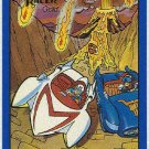 Speed Racer #08 Gold Foil Parallel Card The Fire Race