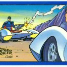 Speed Racer #11 Gold Foil Parallel Card Mach 5 Vs Mach 5