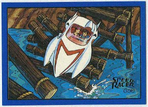 Speed Racer #18 Gold Foil Parallel Card The Race For Life