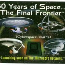 Star Trek 30th Anniversary Phase 2 Web Promo Trading Card