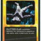 Doctor Who CCG Glitter Gun Uncommon Black Border Card