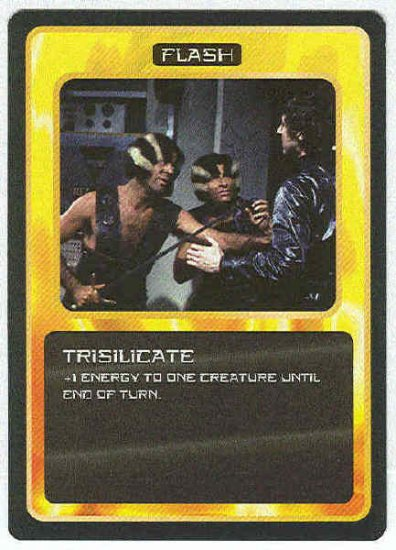 Doctor Who CCG Trisilicate Uncommon Game Trading Card