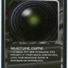 Doctor Who CCG Siligtone Dome Uncommon BB Game Card
