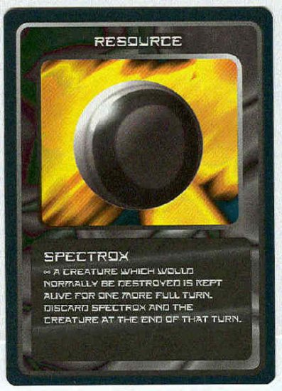 Doctor Who CCG Spectrox Uncommon BB Game Trading Card
