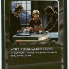 Doctor Who CCG Unit Headquarters Uncommon BB Game Card