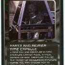 Doctor Who CCG Kartz And Reimer Time Capsule Uncommon Card