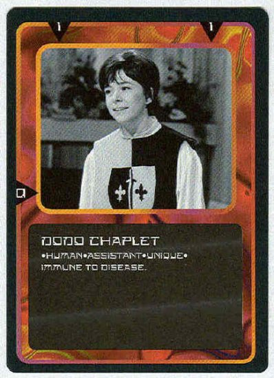 Doctor Who CCG Dodo Chaplet Uncommon Card Jackie Lane