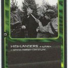 Doctor Who CCG Highlanders Uncommon Game Trading Card
