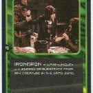 Doctor Who CCG Irongron Uncommon Black Border Game Trading Card