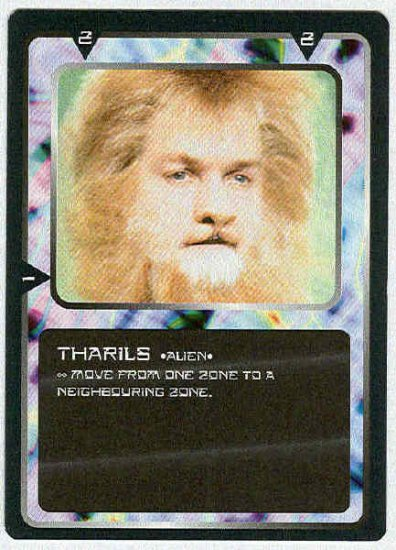 Doctor Who CCG Tharils Uncommon Black Border Game Trading Card
