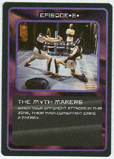 Doctor Who CCG The Myth Makers Uncommon Game Card