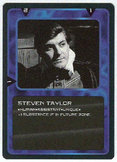 Doctor Who CCG Steven Taylor Uncommon BB Card Peter Purves