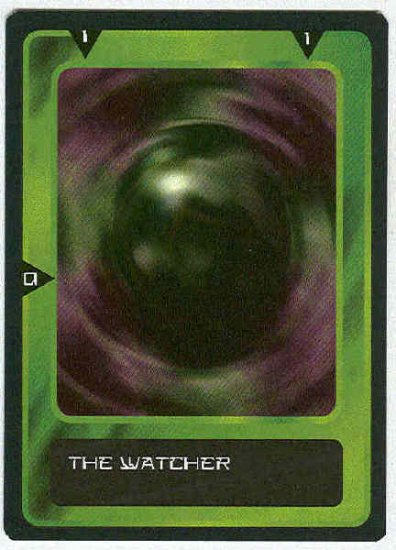 Doctor Who CCG The Watcher Past Black Border Card (2)