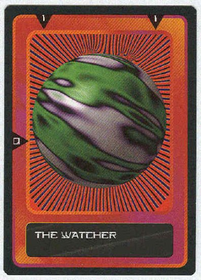 Doctor Who CCG The Watcher Present Black Border Card (2)