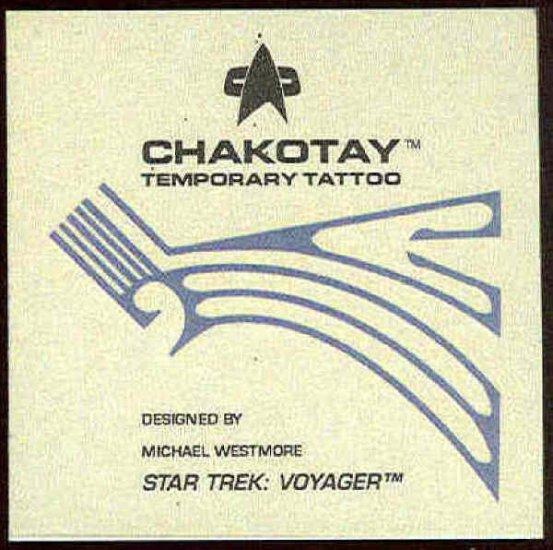 Star Trek Voyager Season 1 Series 2 Chakotay Tattoo