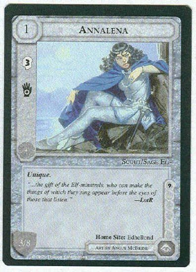 Middle Earth Annalena Wizards Limited Fixed Game Card