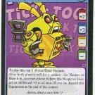 Neopets #95 Yellow Clockwork Grundo Rare Card Unplayed