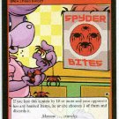 Neopets CCG Base Set #83 Spyder Bites Rare Game Card
